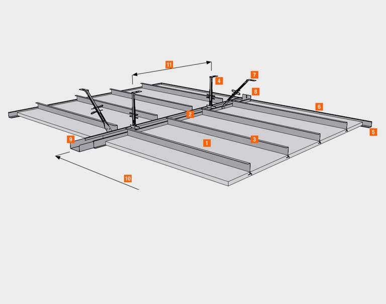 AMF монтаж система I бандрастрова система